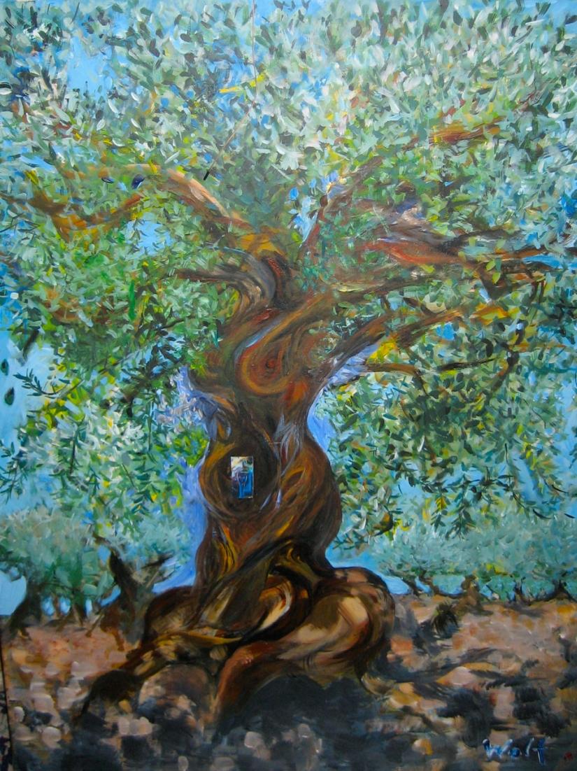 Olivier arbre de vie