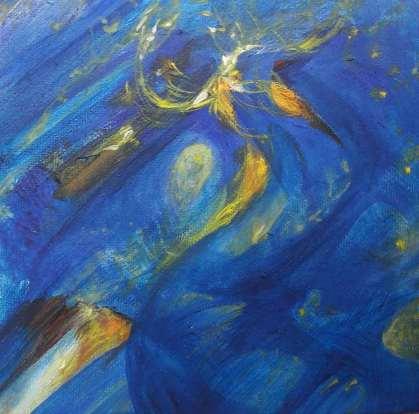 petit bleu nuit 15x15